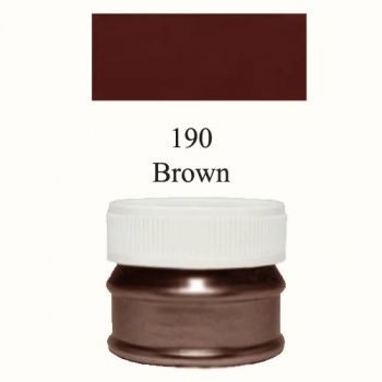 Pigment mat brown