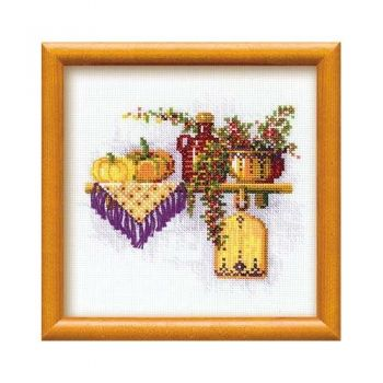 Cross-stitch kit Riolis 994 The Pumpkin
