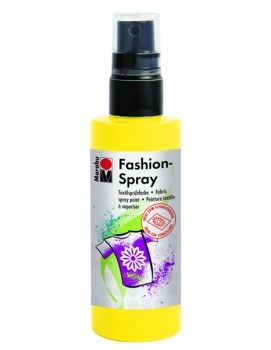 Textile spray Marabu FASHION - lemon yellow