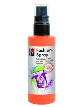 Textile spray Marabu FASHION - orange tangerine