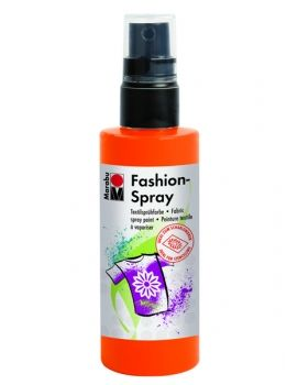 Textile spray Marabu FASHION - red orange