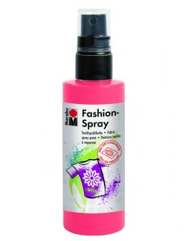 Textile spray Marabu FASHION - rose flamingo