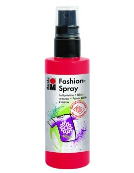 Textile spray Marabu FASHION - red