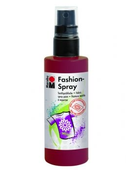 Textile spray Marabu FASHION - claret