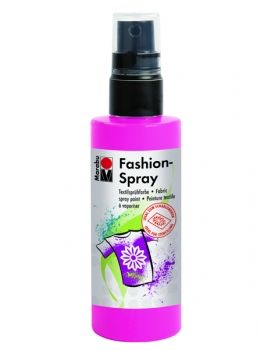 Textile spray Marabu FASHION - pink