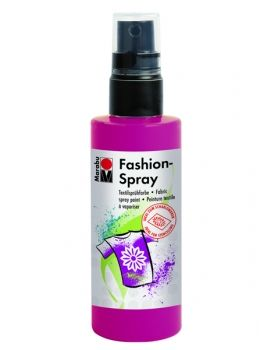 Textile spray Marabu FASHION - raspberry red