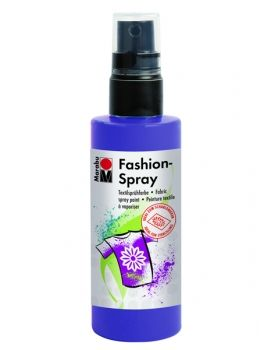Textile spray Marabu FASHION - plum blue