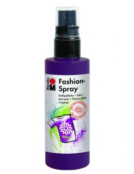 Textile spray Marabu FASHION - eggplant