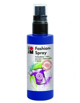 Textile spray Marabu FASHION - night blue