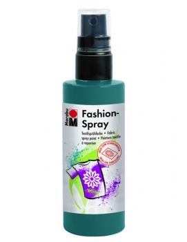 Textile spray Marabu FASHION -  petroleum blue