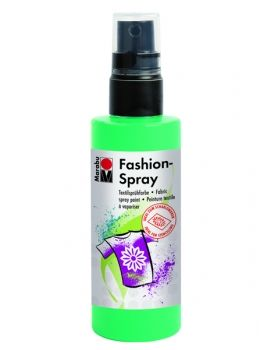 Textile spray Marabu FASHION -  apple green