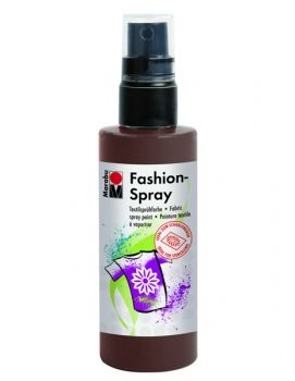 Textile spray Marabu FASHION - cacao