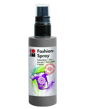 Textile spray Marabu FASHION - grey