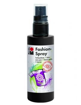 Textile spray Marabu FASHION -  black