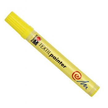 Textile pen Painter 2-4 mm Lemon Yellow