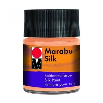 Silk paint Marabu Peach