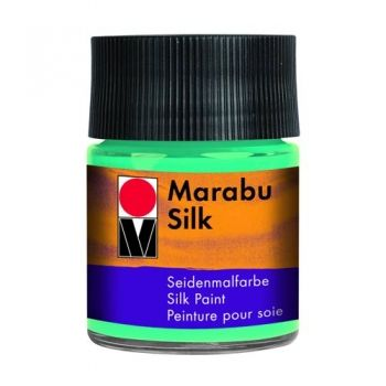 Silk paint Marabu Caribian blue
