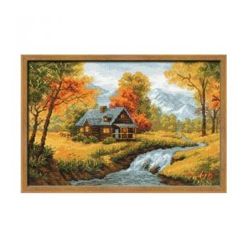 Cross-stitch kit Riolis 1079 The Autumnal view