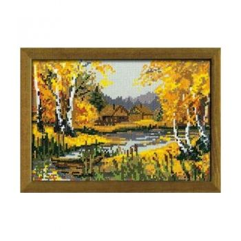 Cross-stitch kit Riolis 920 The Autumnal charme