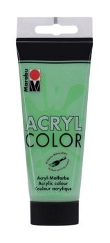 Acrylic paint Acryl Color of Marabu - deep green