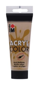 Acrylic paint Acryl Color of Marabu - middle brown