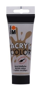 Acrylic paint Acryl Color of Marabu - dark brown