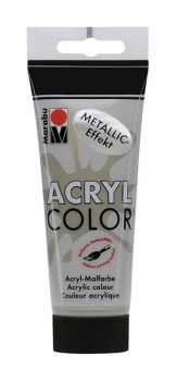 Acrylic paint Acryl Color metallic of Marabu  - taupe
