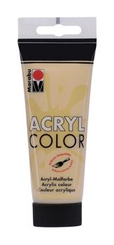 Acrylic paint Acryl Color metallic of Marabu  - gold