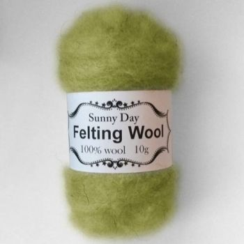 Wool green-grey lake light