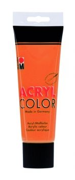 Acrylic paint Acryl Color of Marabu -  orange, 225ml