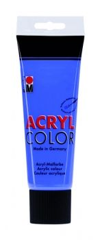 Acrylic paint Acryl Color of Marabu - ultramarine, 225ml