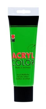 Acrylic paint Acryl Color of Marabu - deep green, 225ml
