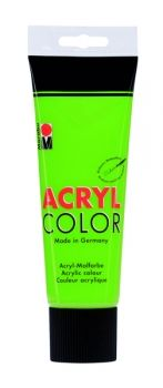 Acrylic paint Acryl Color of Marabu - green leafs, 225ml