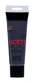 Acrylic paint Acryl Color of Marabu - grey, 225ml