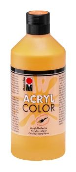 Acrylic paint Acryl Color of Marabu -  orange, 500ml