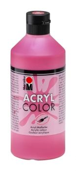 Acrylic paint Acryl Color of Marabu -  Cinnabar, 500ml