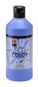 Acrylic paint Acryl Color of Marabu - dark blue, 500ml