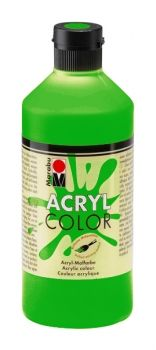 Acrylic paint Acryl Color of Marabu - deep green, 500ml