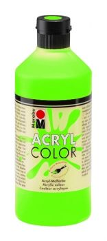 Acrylic paint Acryl Color of Marabu - green leafs, 500ml