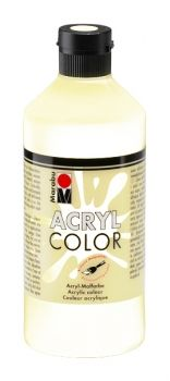 Acrylic paint Acryl Color of Marabu - white, 500ml