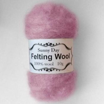 Wool warm light purple