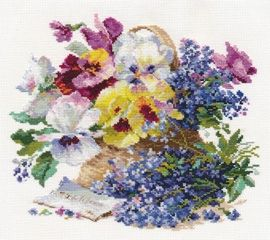 Alisa 2-24 cross-stitch love-letter