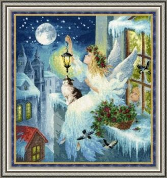 "Cross-stitch kit Zolotoe Runo ""winter fairy"" SO-012"