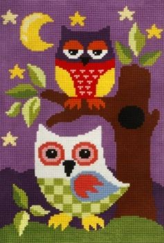 Cross-stitch kit Orchidea 9836 Owls