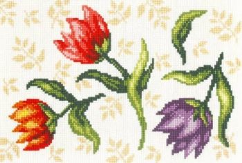 Cross-stitch kit Orchidea 9838 Tulips