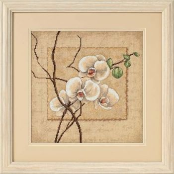 "Cross-stitch kit Dimensions ""Oriental Orchids"""