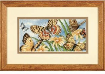 "Cross-stitch kit Dimensions ""Butterfly Vignette"""