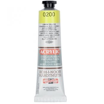 Acrylic paint Koh-I-Noor lemon yellow