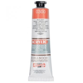 Acrylic paint Koh-I-Noor light red