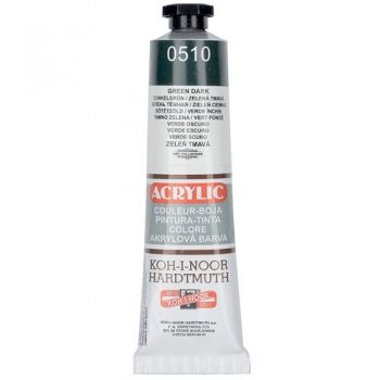 Acrylic paint Koh-I-Noor dark green